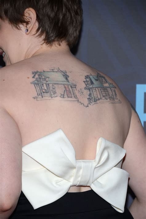 lena dunham tattoos lena dunham artistic design tattoos lookbook