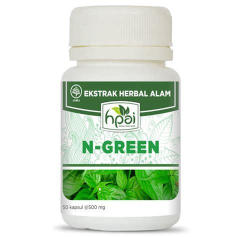 Hpai N Green Memelhara Daya Tahan Tubuh n green hpai produk hni hpai