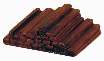 New Wooden Sleepers by Hattons Co Uk Harburn Hamlet Fl102 Pile Of New Wooden