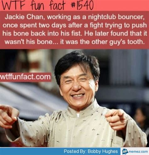 Jackie Chan Meme Generator - jackie chan working as nightclub bouncer memes com