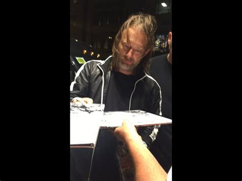 Thom Yorke Meme - rare video of thom yorke signing autographs in chicago