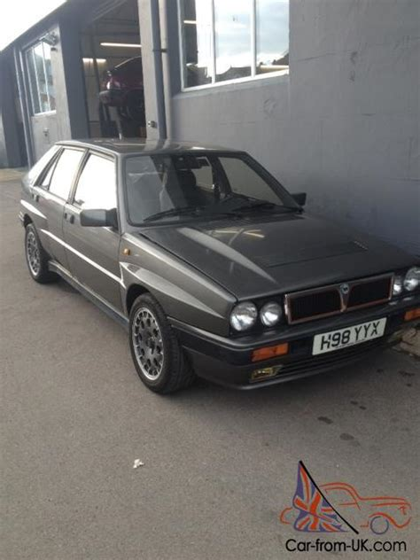 Lancia Parts Uk 1991 Lancia Delta Hf Integrale 4wd 16v New Mot New Parts