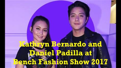 benched show kathniel at bench fashion show 2017 youtube