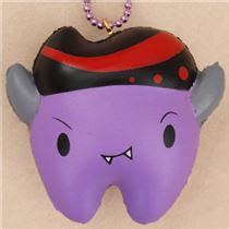 Squishy Licensed Cutie Creative Colorfull Marshmellow Original P scented mini purple tooth squishy by cutie creative
