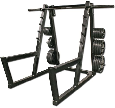 Rack Squat by Peg Squat Rack Legend Fitness 3138