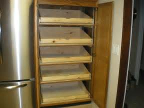 extension pull out pantry shelves for a friend by