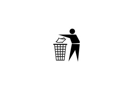 Do not litter vector icon   Life Icons, Vector Icons free