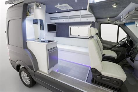 Mercedes Sprinter Caravan by Mercedes Showcases Sprinter Caravan Cut Away Autoevolution