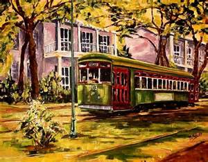 car paint new orleans new orleans streetcar weinberg commission by diane