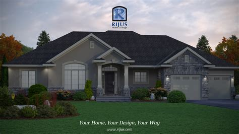 modern home design ontario 3d renderings home designs custome house designer rijus