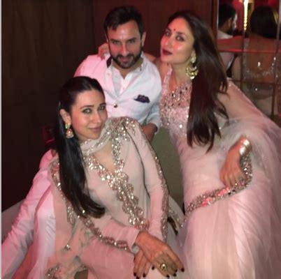 Saif ali khan sister marriage picture