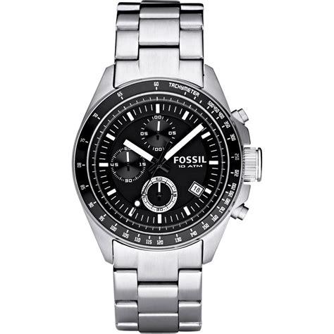 s decker chronograph bracelet ch2600 fossil