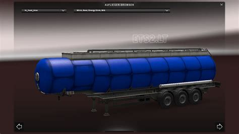 blue trailer aerodynam箘c ets 2 mods part 5