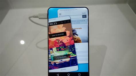 sharp mobile phone sharp showcases concept smartphone with gorgeous rounded