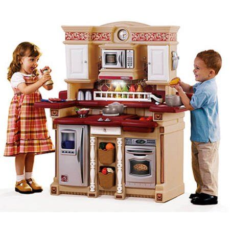 Step 2 Lifestyle Partytime Kitchen by Step2 Classic Lifestyle Time Kitchen With 33 Cooking