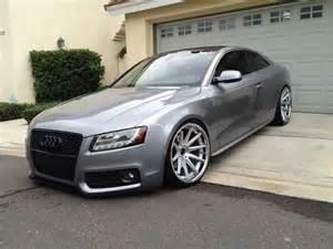 Audi A5 Coupe Rims Grey Audi Rohana Wheels Concave Silver Car Brand Audi