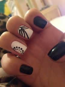 and black designs 50 incredible black and white nail designs
