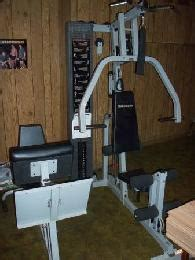 Club Weider 565 Complete Home Gym W 505 Lbs Squat Bench