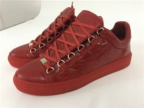 insole limited version 2016 new balenciaga arena low top creased leather sneakers