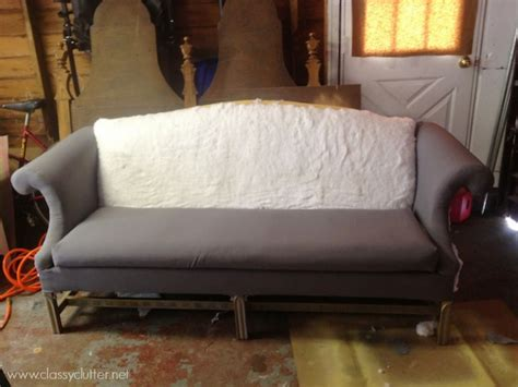 how to reupholster a sofa video how to reupholster a sofa