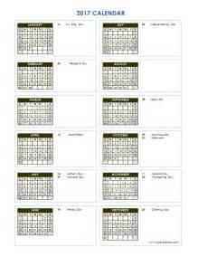Yearly Calendar Template Word by 2017 Calendar Microsoft Word Calendar Template 2016