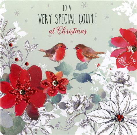 boxed special couple special luxury handmade christmas card cards