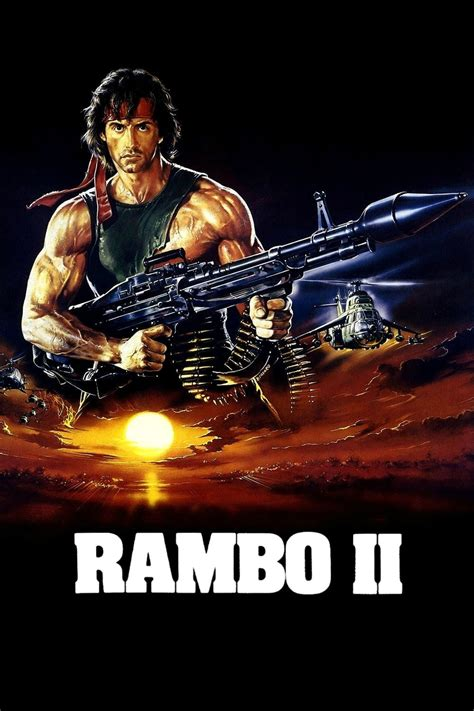 rambo film magyar rambo first blood part ii 1985 posters the movie