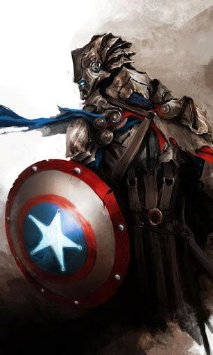 wallpaper android captain america captain america live wallpaper app for android