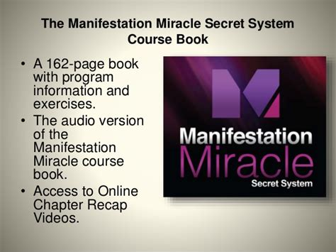 The Miracle Summary Manifestation Miracle Review How To Change Your
