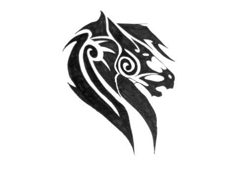 tribal horse head tattoo designs inspiring design tattooshunter