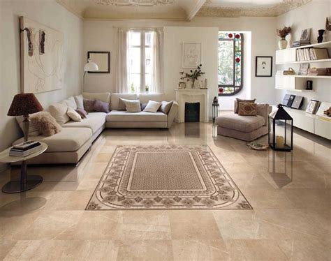 Floor Tile Patterns Living Room by Tiles Design For Living Room To Rank Up Space Flooring