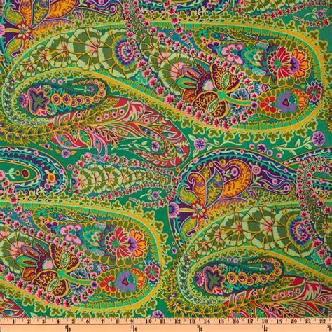 Bj 9238 White Yellow Pattern Dress kaffe fassett paisley jungle green discount designer