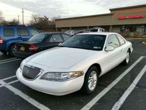 how to sell used cars 1998 lincoln mark viii seat position control sell used 1998 lincoln mark viii base rare white on black in glenwood landing new york