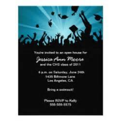 graduation open house invites 1 000 graduation open house invitation templates