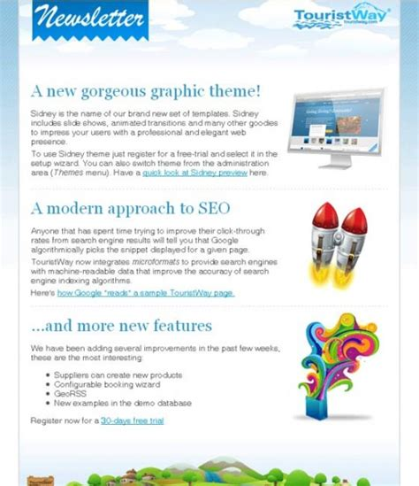 25 Effective Newsletter Designs For Your Email Template Tutorialchip Effective Newsletter Templates