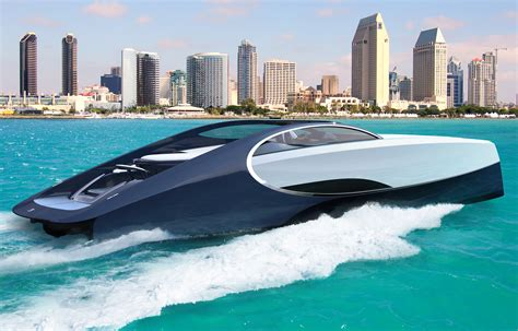 bugatti boat bugatti s 4 million yacht has a jacuzzi and fire pit
