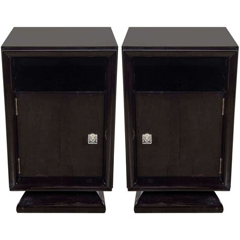 Pair Of Brutalist Nightstands End Tables For Furniture From The 1960s Sold Collection Pair Of Mid Century Modernist Plinth Base Nightstands End Tables At 1stdibs