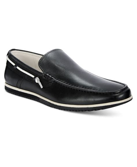 kenneth cole reaction loafer kenneth cole s holy joe loafers in black for