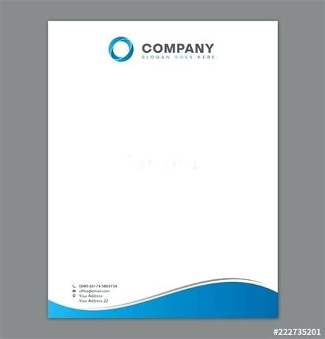 free letterhead templates with logo blank letterhead template blank letterhead template for