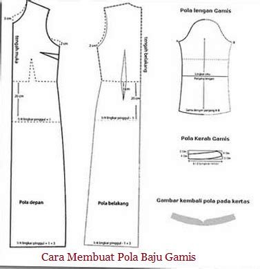 cara membuat pola baju gaun cara membuat pola baju gamis sederhana untuk pemula