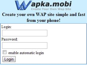 tutorial wapka wapka site full creation tutorial
