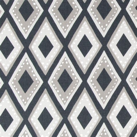diamond pattern fabric name a global inspired diamond pattern fabric in black taupe