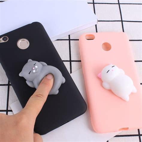 Xiaomi Redmi Note 4 3d Squishy Soft Silicone aliexpress compre squishy 3d caixa do telefone para