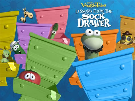 Veggie Tales Lesson From The Sock Drawer by Lessons From The Sock Drawer