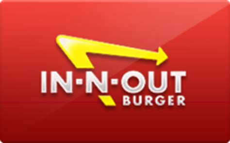 buy in n out burger gift cards raise - In N Out Burger Gift Card