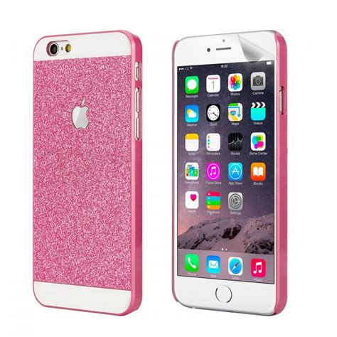 jual pink glitter for iphone 6 and 6 sony original