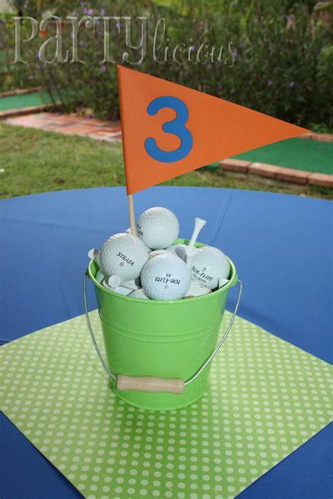 golf banquet centerpieces partylicious events pr mauricio s golf birthday par