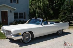 Cadillac 1970 Convertible 1970 Cadillac Convertible