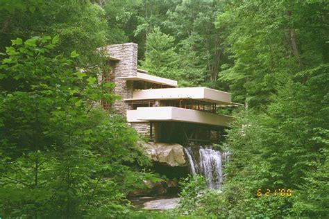frank lloyd wright waterfall fallingwater frank lloyd wright kaufmann house above the