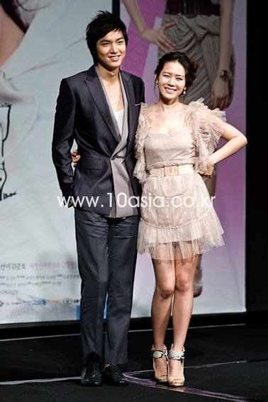 film lee min ho dan son ye jin photos quot personal taste quot press conference hancinema
